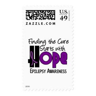 Epilepsy HOPE 4 Stamps
