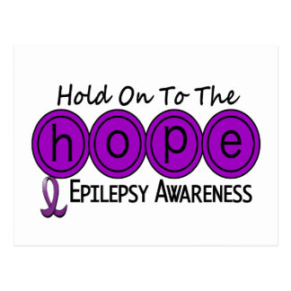 Epilepsy HOPE 5 Postcard