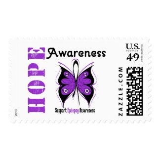 Epilepsy HOPE Awareness Postage Stamps