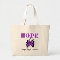 Epilepsy HOPE Large Tote Bag