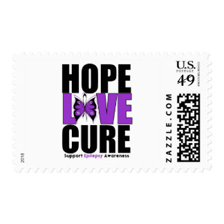 Epilepsy HOPE LOVE CURE Postage