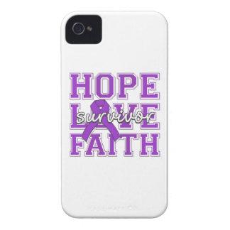 Epilepsy Hope Love Faith Survivor iPhone 4 Covers
