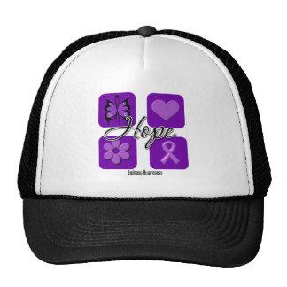 Epilepsy Hope Love Inspire Awareness Trucker Hat