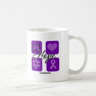 Epilepsy Hope Love Inspire Awareness Mug