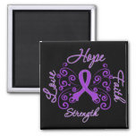 Epilepsy Hope Motto Butterfly Magnets