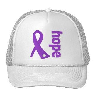 Epilepsy Hope Ribbon Trucker Hat