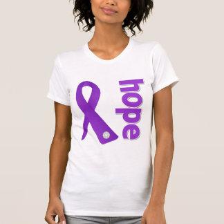 Epilepsy Hope Ribbon Tank Tops