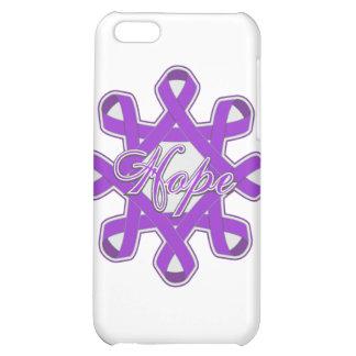 Epilepsy Hope Unity Ribbons iPhone 5C Cases