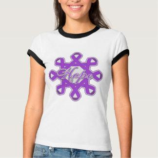 Epilepsy Hope Unity Ribbons Tee Shirts