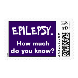 Epilepsy. How much do you know? Postage