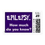 Epilepsy. How much do you know? Postage