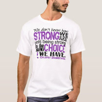 Epilepsy How Strong We Are T-Shirt