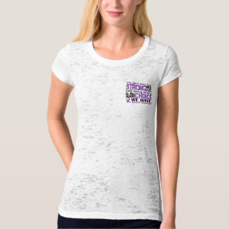 Epilepsy How Strong We Are T Shirt