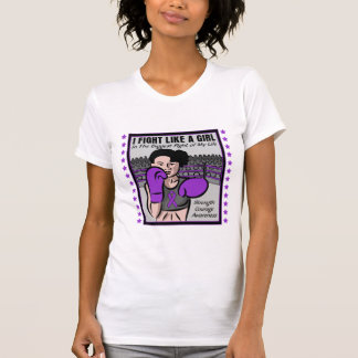 Epilepsy I Fight Like A Girl Battle Shirt