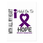Epilepsy I Hold On To Hope Postcard