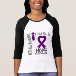 Epilepsy I Hold On To Hope Shirt