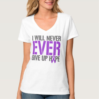 Epilepsy I Will Never Ever Give Up Hope Tees