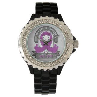 Epilepsy - It's AOK Retro Charity Ribbon - Watch
