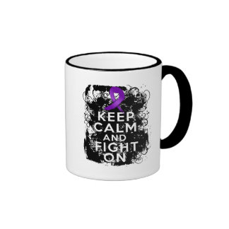 Epilepsy Keep Calm and Fight On Mugs