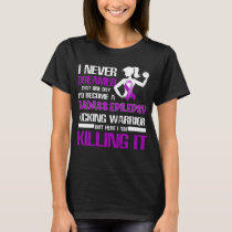 epilepsy kicking warrior women T-Shirt