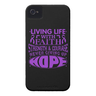 Epilepsy Living Life with Faith iPhone 4 Case-Mate Cases