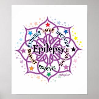 Epilepsy Lotus Poster