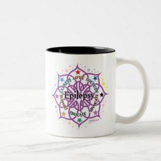 Epilepsy Lotus Two-Tone Coffee Mug
