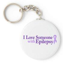 epilepsy love keychain