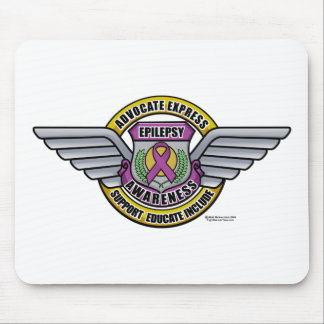 Epilepsy Medal Mouse Pad
