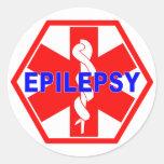 EPILEPSY MEDICAL ID STICKER