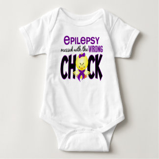Epilepsy Messed With The Wrong Chick T Shirts