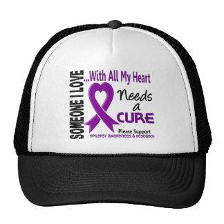 Epilepsy Needs A Cure 3 Trucker Hat
