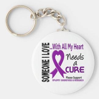 Epilepsy Needs A Cure 3 Keychains