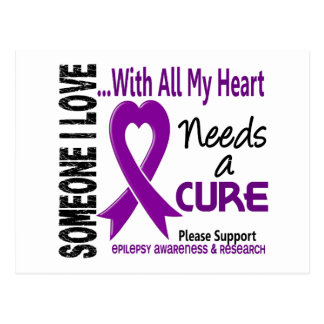 Epilepsy Needs A Cure 3 Postcard