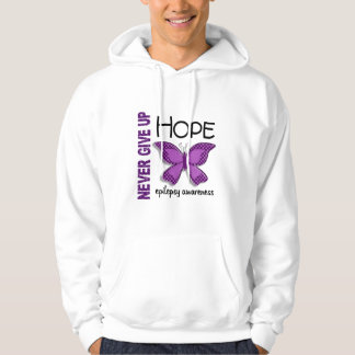 Epilepsy Never Give Up Hope Butterfly 4.1 Pullover