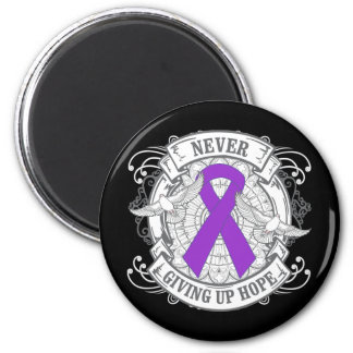 Epilepsy Never Giving Up Hope 2 Inch Round Magnet