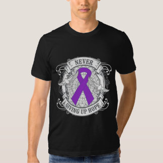 Epilepsy Never Giving Up Hope Tees