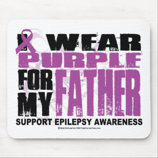 Epilepsy Purple for Father Mouse Pad