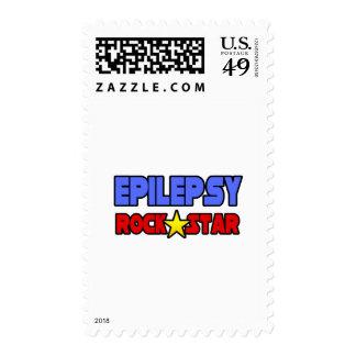 Epilepsy Rock Star Stamps
