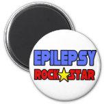 Epilepsy Rock Star Refrigerator Magnet