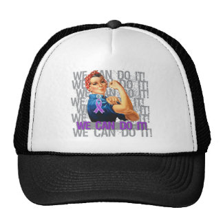 Epilepsy Rosie The Riveter WE CAN DO IT Hats