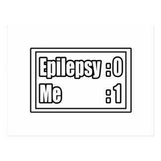 Epilepsy Scoreboard Postcard