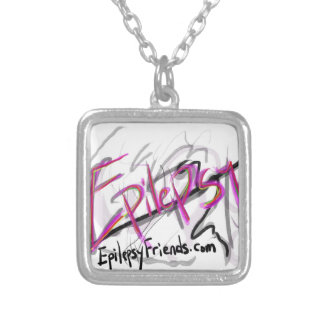 Epilepsy Silver Plated Necklace