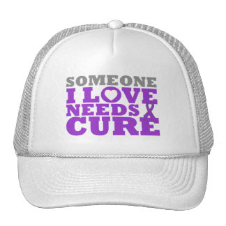 Epilepsy Someone I Love Needs A Cure Trucker Hat