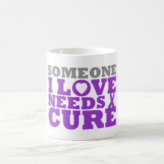 Epilepsy Someone I Love Needs A Cure Coffee Mug