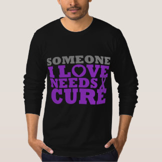 Epilepsy Someone I Love Needs A Cure T-shirt