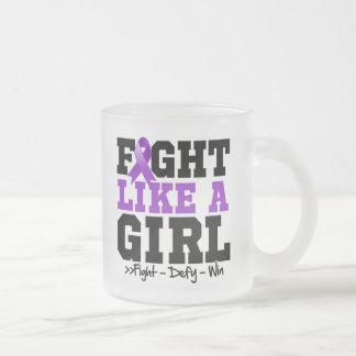 Epilepsy  Sporty Fight Like a Girl Mug