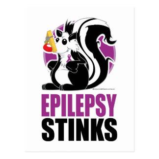Epilepsy Stinks Postcard