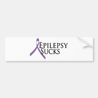 Epilepsy Sucks Bumper Sticker