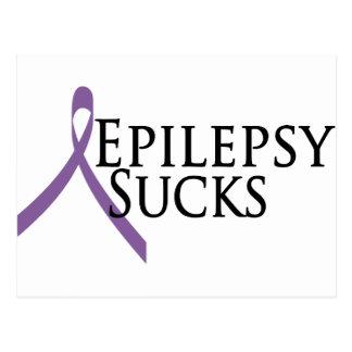 Epilepsy Sucks Postcard